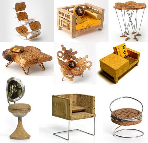 Cork Furniture: Recycled Cork Furniture For Borrowers