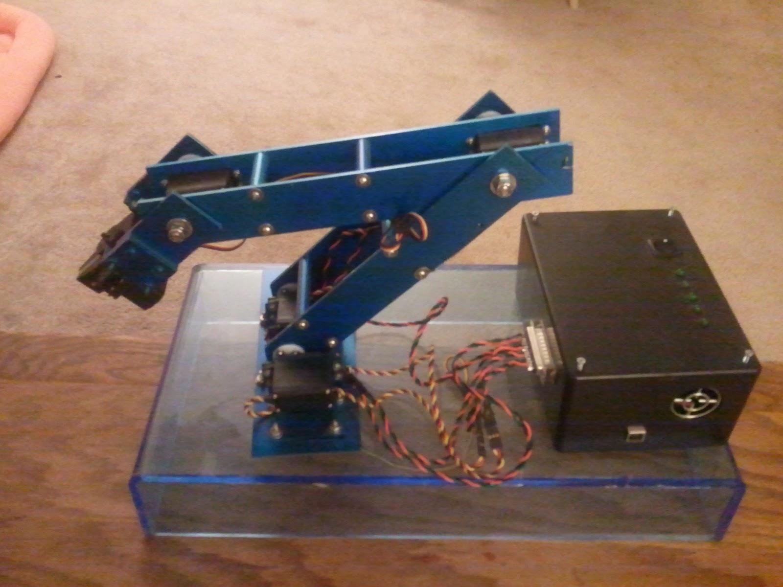 Homemade Robotic Arm Designs : Diy robot arm genomicon