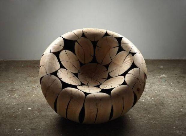 log_chair